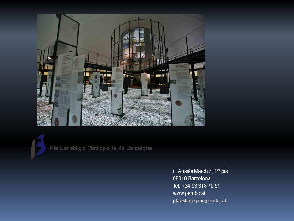 c. Ausiàs March 7, 1er pis 08010 Barcelona. Tel.