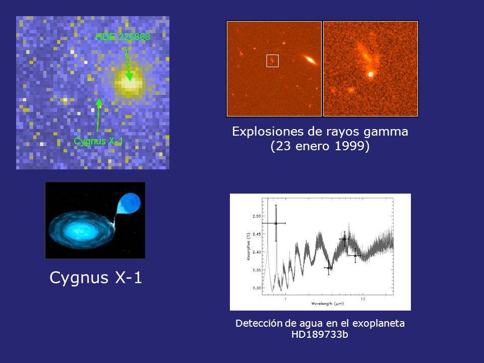 Cygnus X-1 Explosiones de rayos gamma (23 enero 1999)