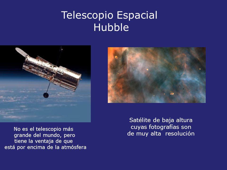 Telescopio Espacial Hubble Satélite de baja altura