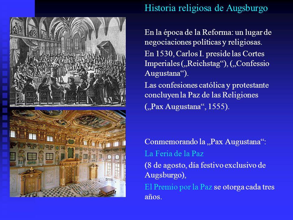 Historia religiosa de Augsburgo