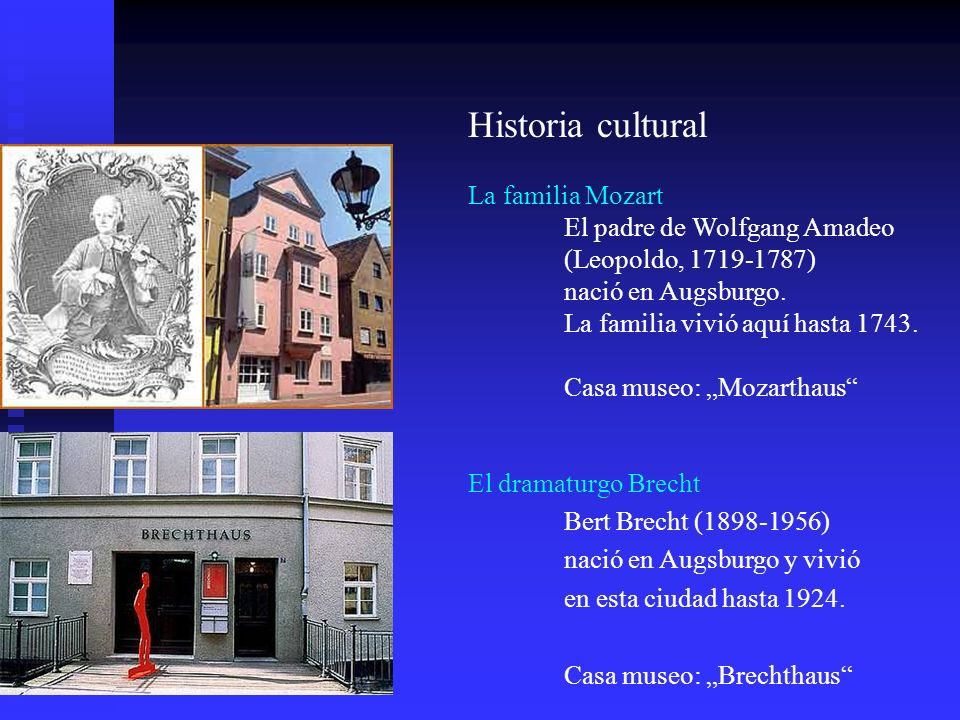 Historia cultural La familia Mozart El padre de Wolfgang Amadeo