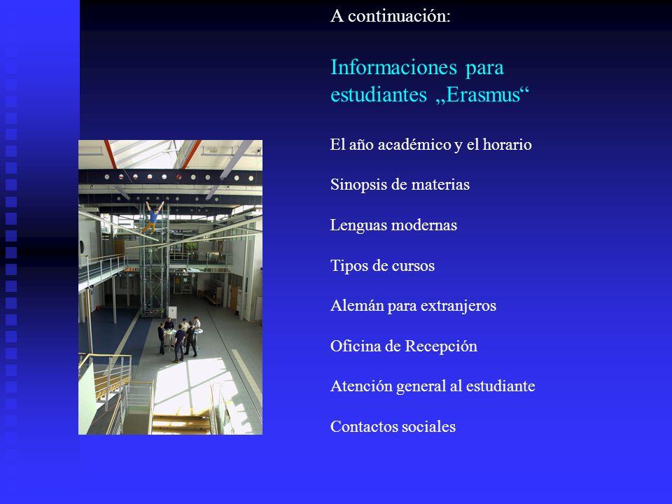 """estudiantes """"Erasmus"""