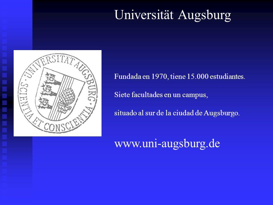 Universität Augsburg www.uni-augsburg.de