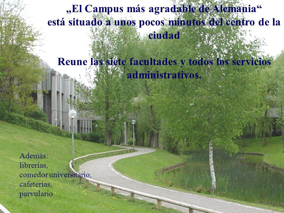 """""""El Campus más agradable de Alemania"""