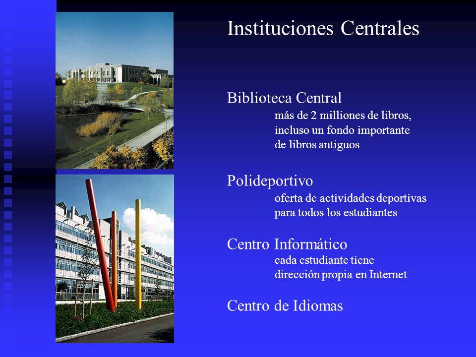 Instituciones Centrales