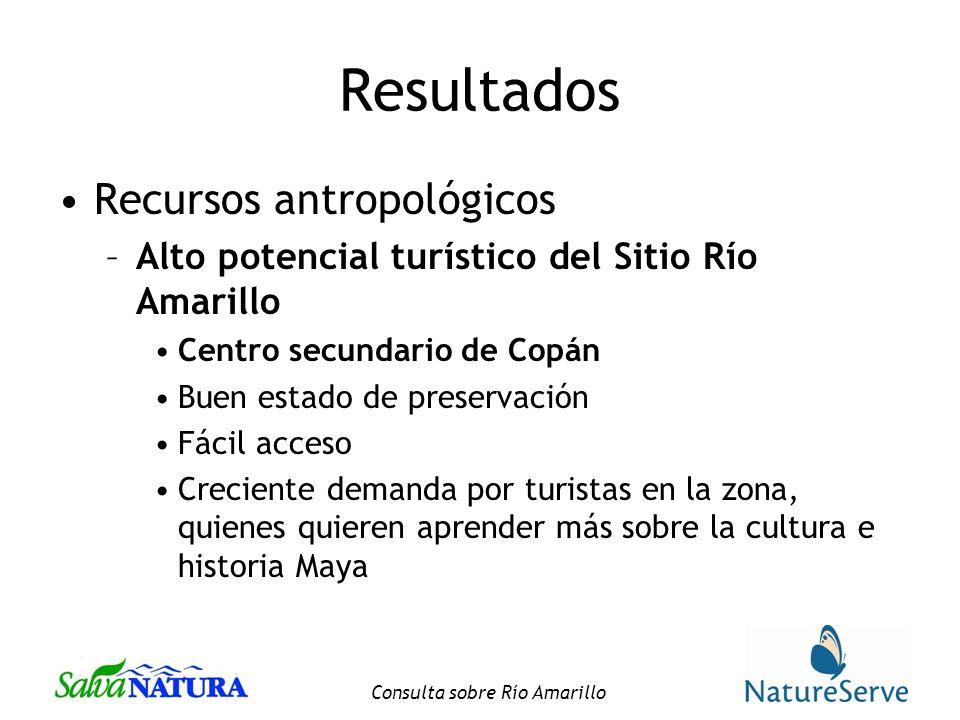 Consulta sobre Río Amarillo