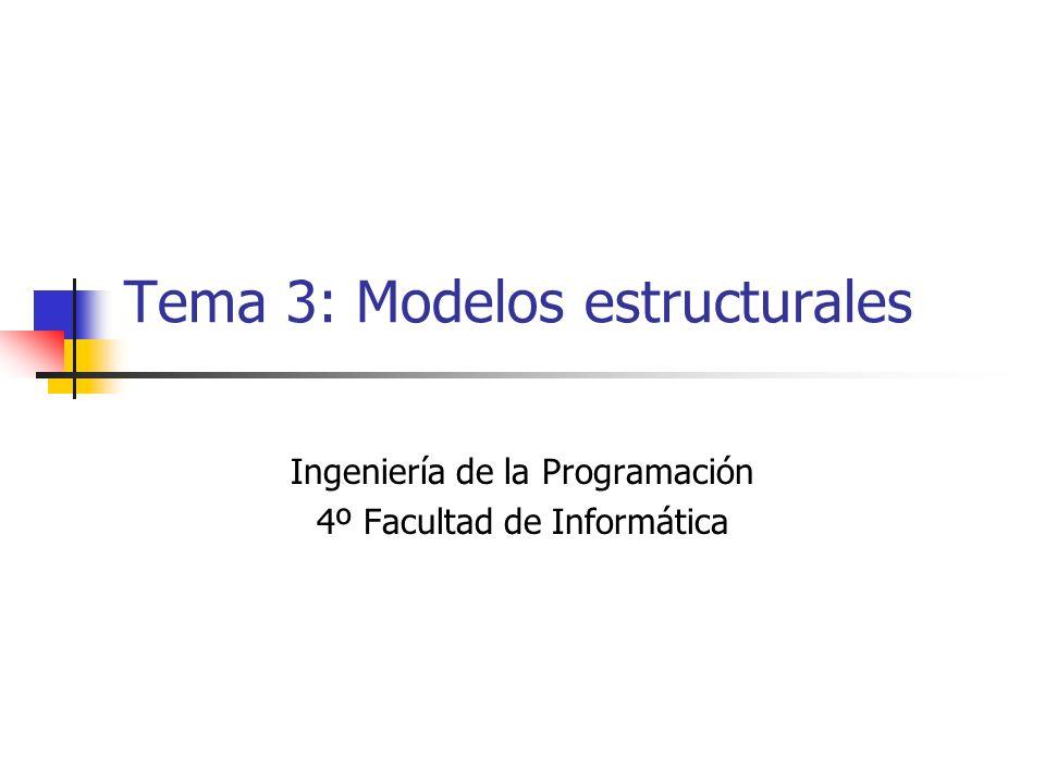 Tema 3: Modelos estructurales
