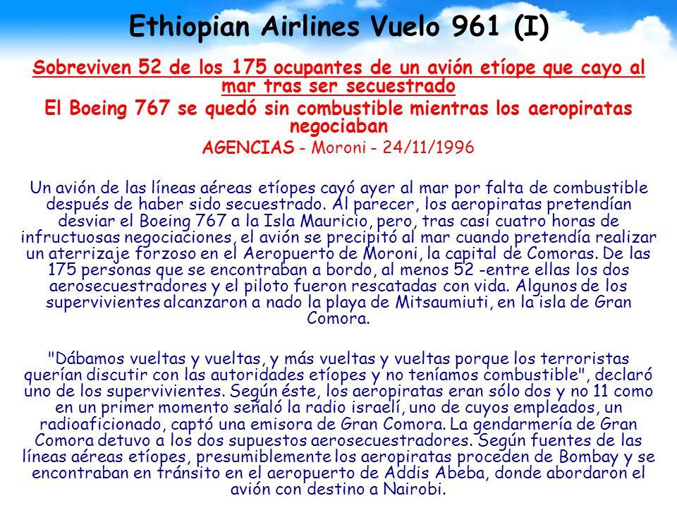 Ethiopian Airlines Vuelo 961 (I)