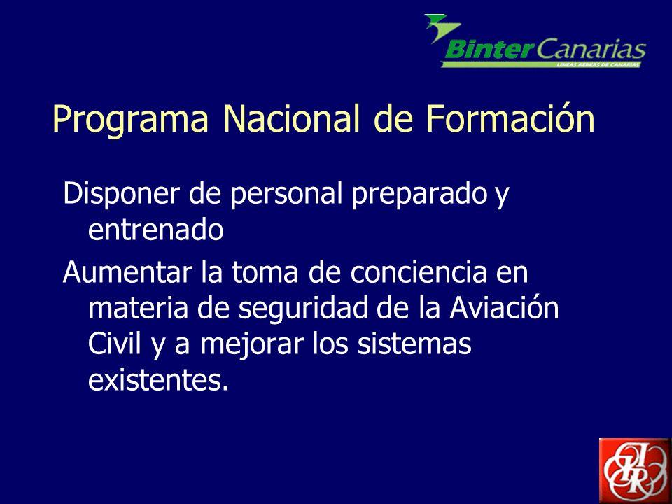 Programa Nacional de Formación