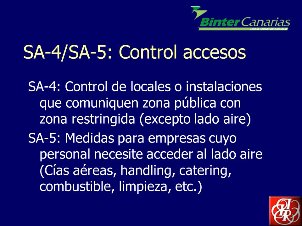 SA-4/SA-5: Control accesos