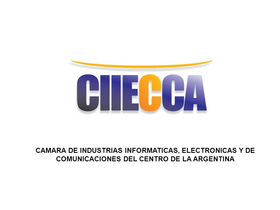 CAMARA DE INDUSTRIAS INFORMATICAS, ELECTRONICAS Y DE COMUNICACIONES DEL CENTRO DE LA ARGENTINA