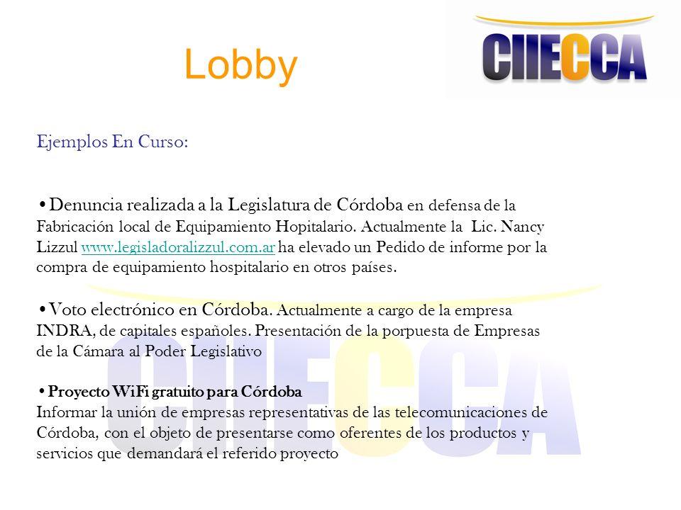 Lobby Ejemplos En Curso: