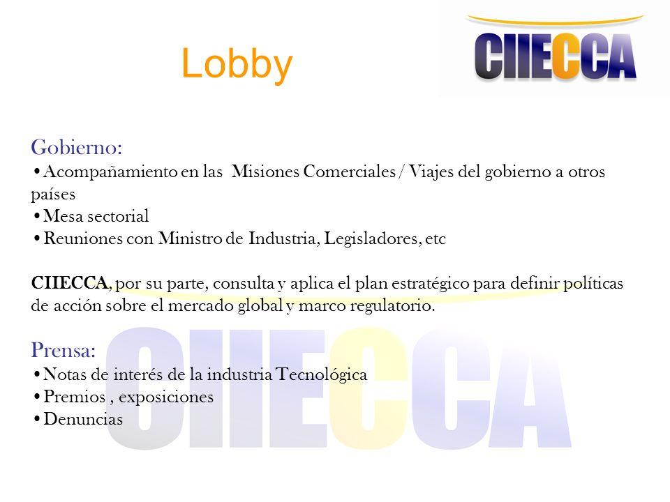 Lobby Gobierno: Prensa: