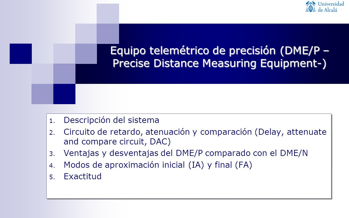 Equipo telemétrico de precisión (DME/P –Precise Distance Measuring Equipment-)