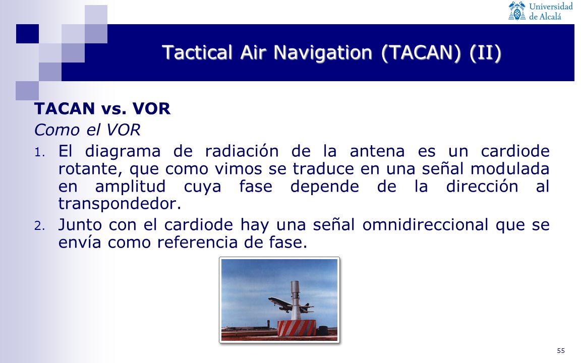 Tactical Air Navigation (TACAN) (II)