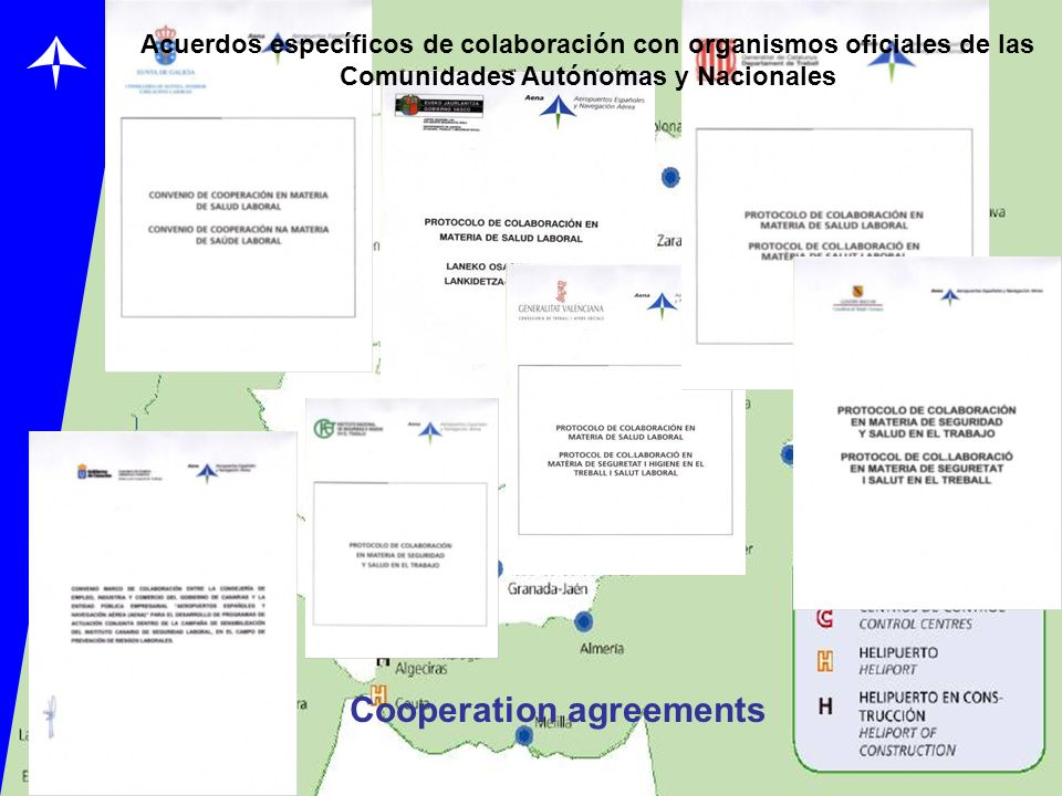 Cooperation agreements