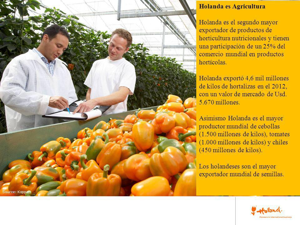 place your image here Holanda es Agricultura