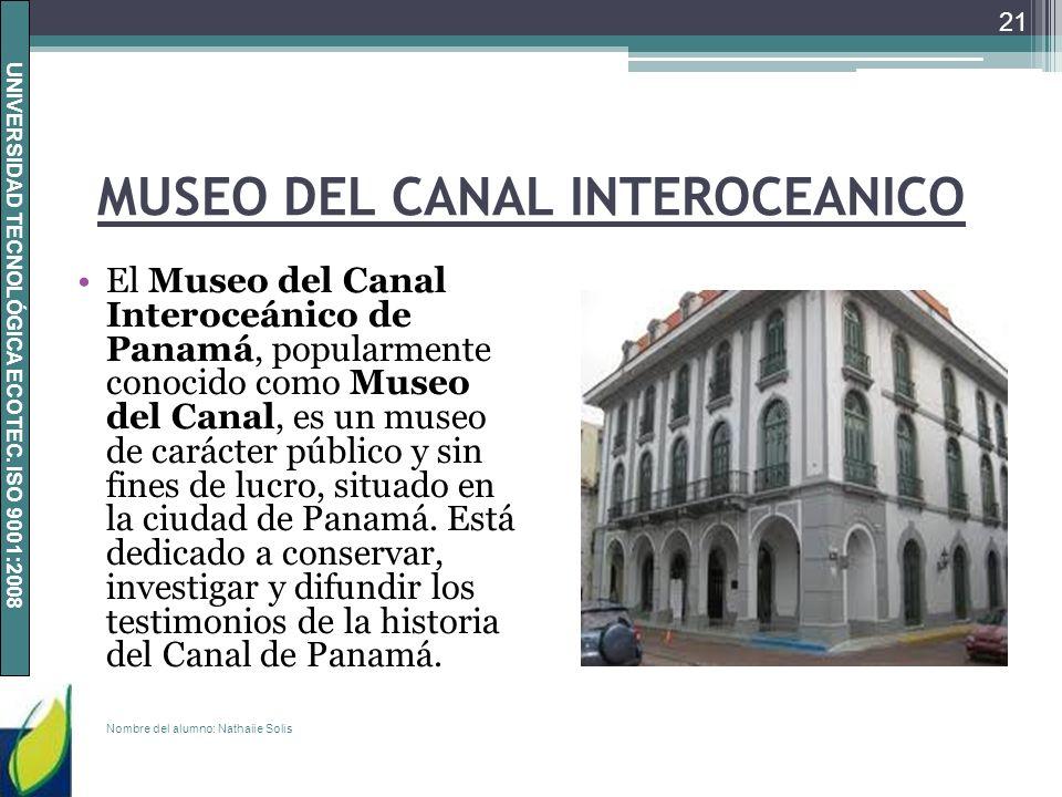 MUSEO DEL CANAL INTEROCEANICO