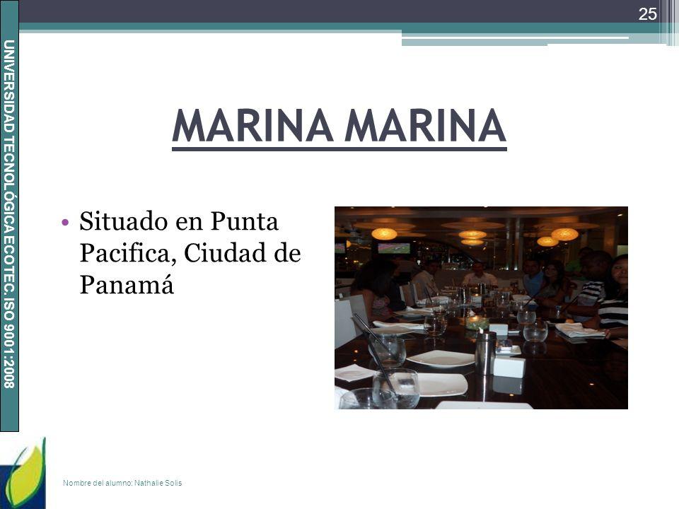 MARINA MARINA Situado en Punta Pacifica, Ciudad de Panamá