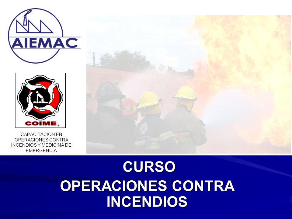 CURSO OPERACIONES CONTRA INCENDIOS