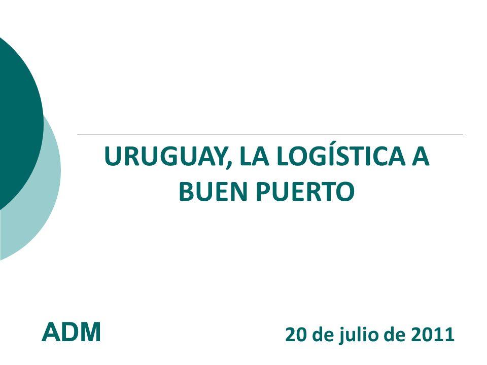 URUGUAY, LA LOGÍSTICA A BUEN PUERTO