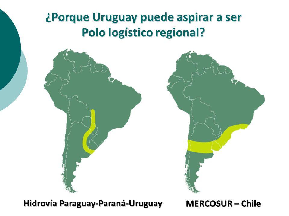 ¿Porque Uruguay puede aspirar a ser Polo logístico regional