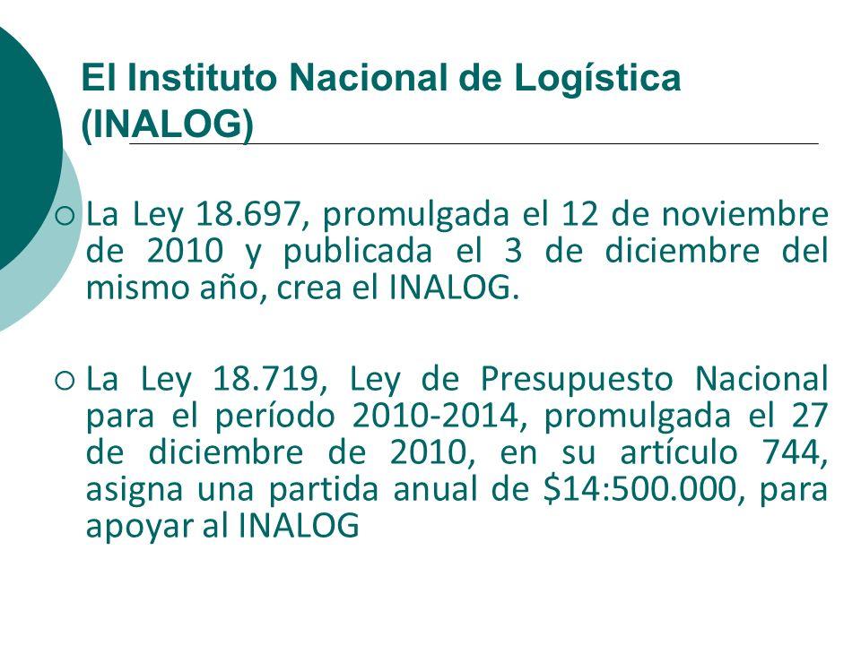 El Instituto Nacional de Logística (INALOG)