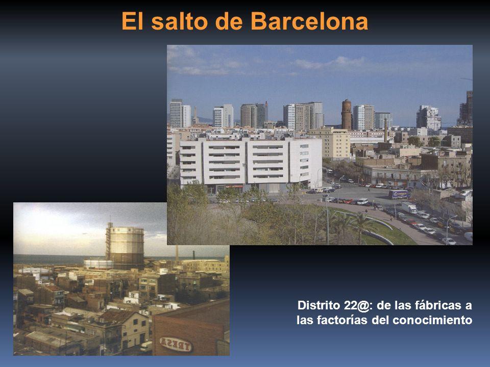 Distrito 22@: de las fábricas a las factorías del conocimiento