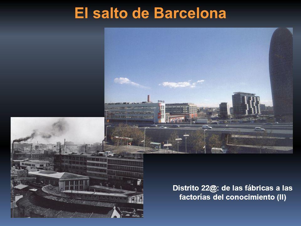 Distrito 22@: de las fábricas a las factorías del conocimiento (II)
