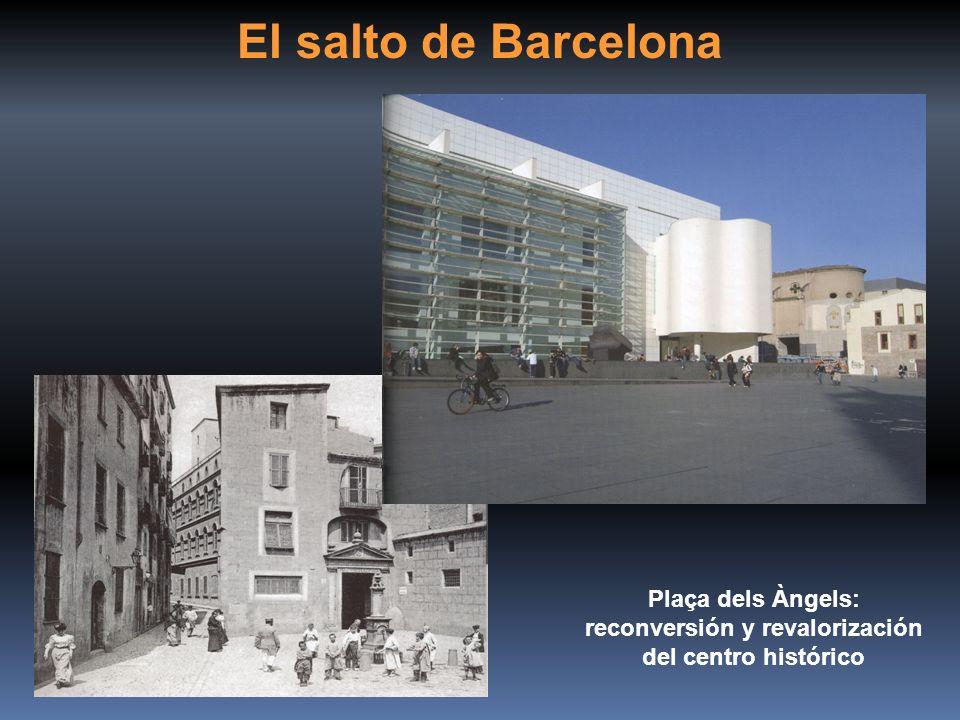 Plaça dels Àngels: reconversión y revalorización del centro histórico