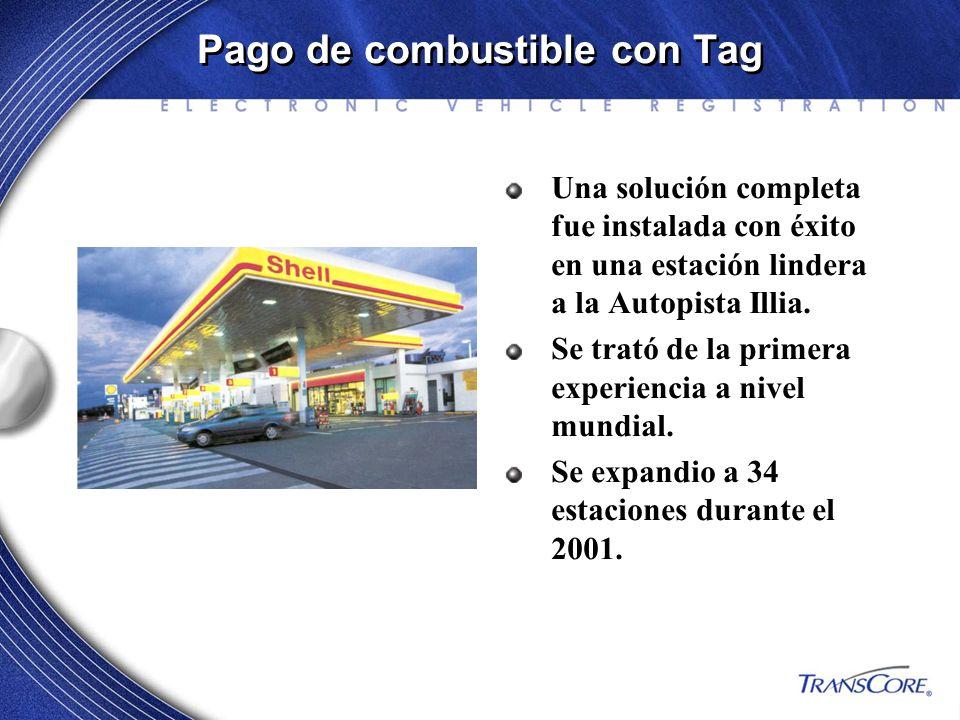 Pago de combustible con Tag