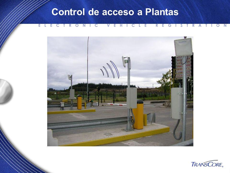 Control de acceso a Plantas