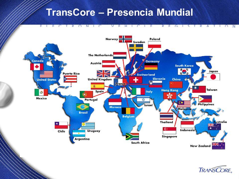 TransCore – Presencia Mundial