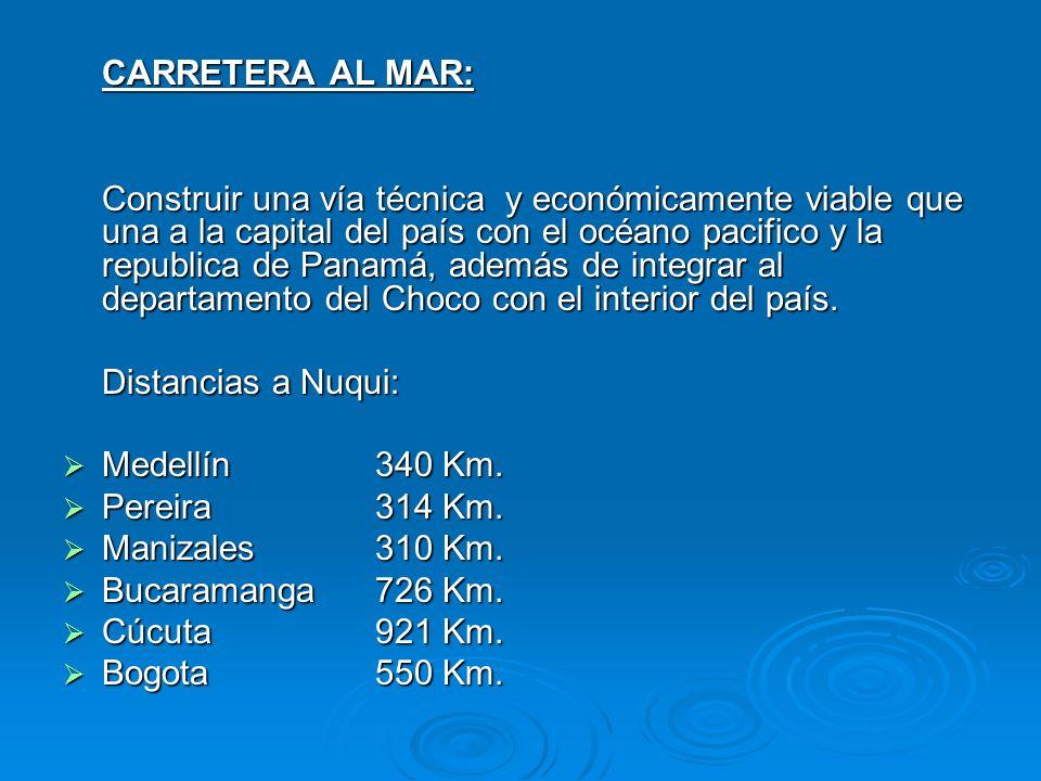 CARRETERA AL MAR: