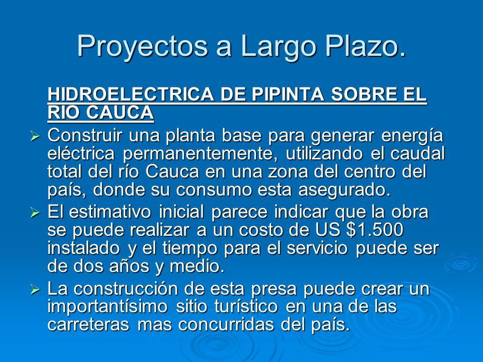 Proyectos a Largo Plazo.