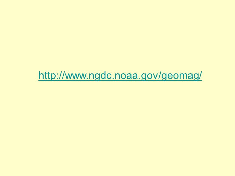 http://www.ngdc.noaa.gov/geomag/