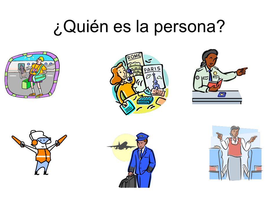 ¿Quién es la persona