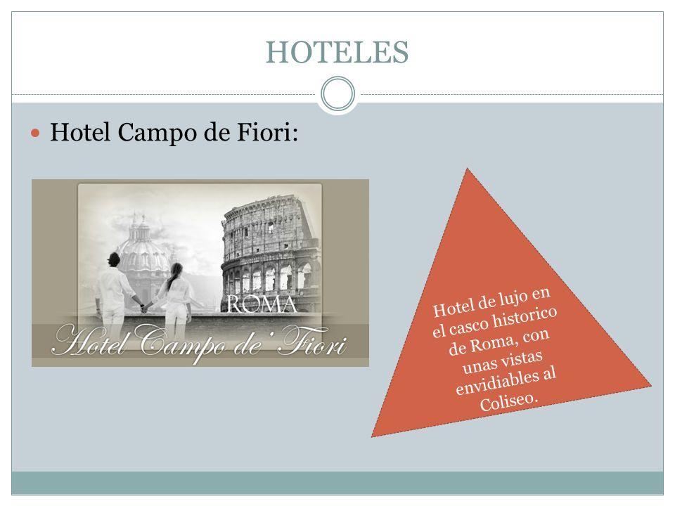 HOTELES Hotel Campo de Fiori:
