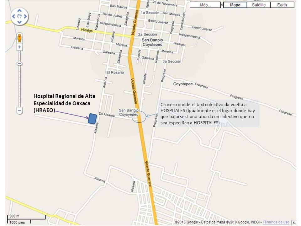 Hospital Regional de Alta Especialidad de Oaxaca (HRAEO)