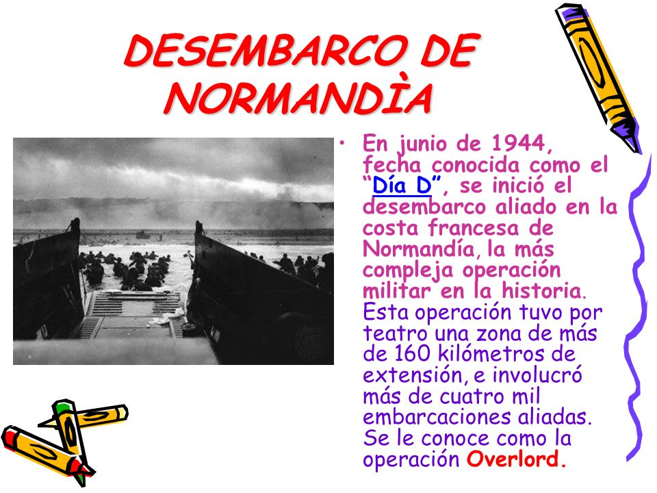 DESEMBARCO DE NORMANDÌA