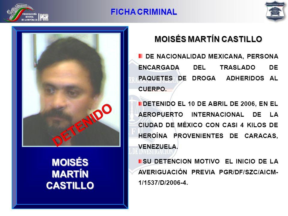 MOISÉS MARTÍN CASTILLO