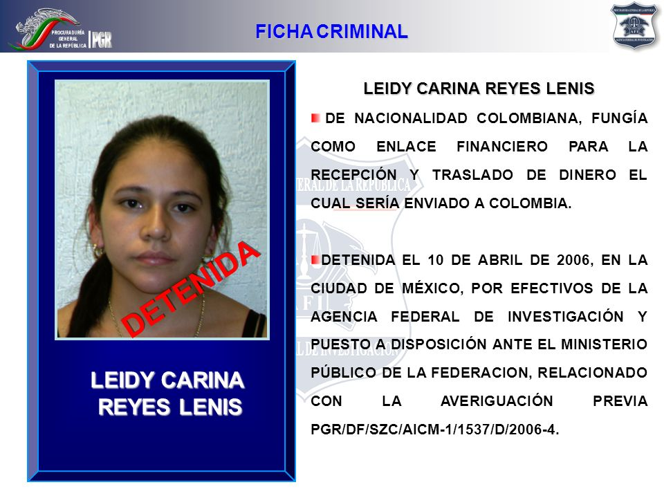 LEIDY CARINA REYES LENIS
