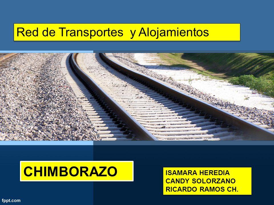 CHIMBORAZO Red de Transportes y Alojamientos ISAMARA HEREDIA