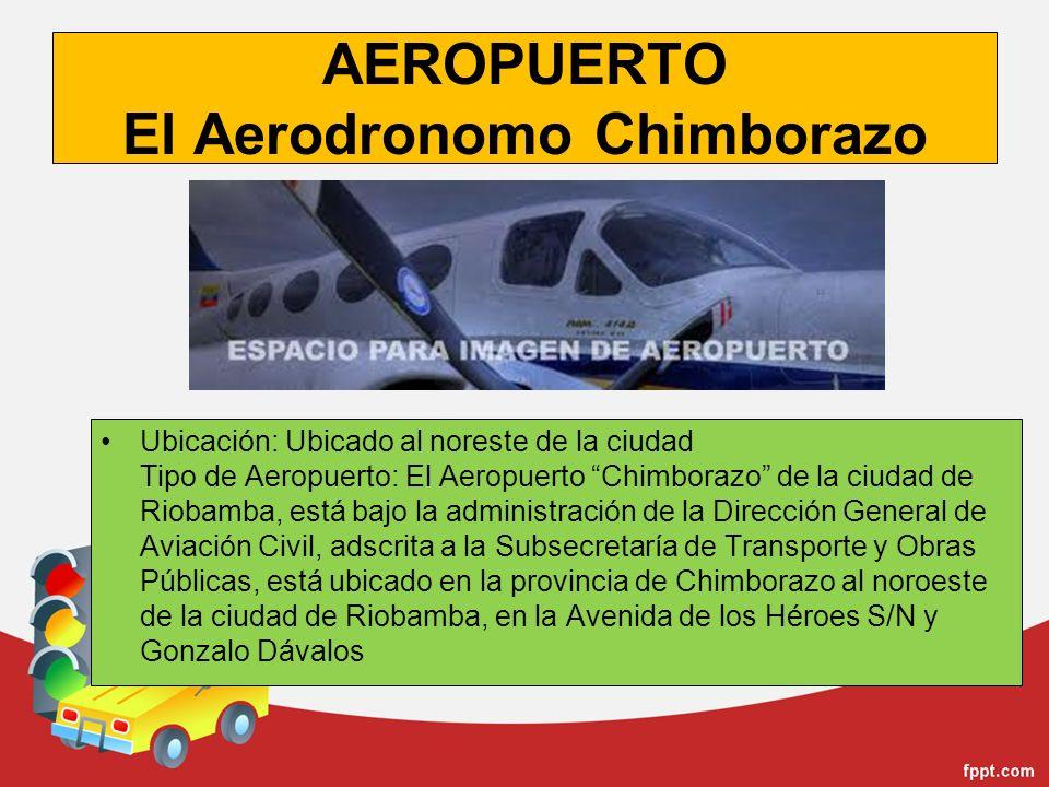 AEROPUERTO El Aerodronomo Chimborazo