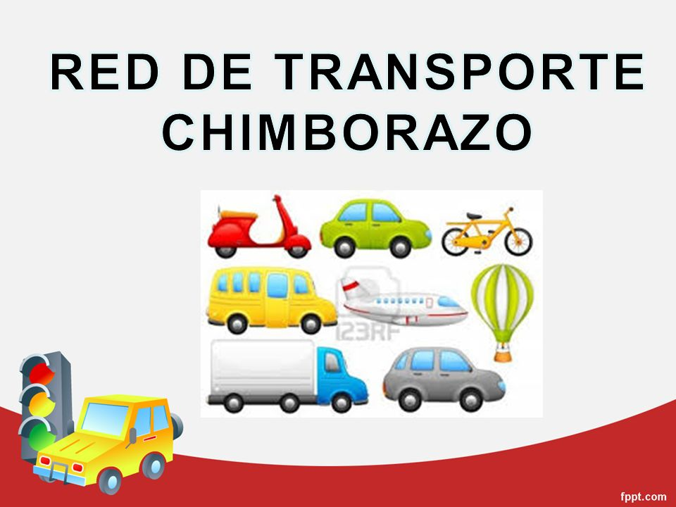RED DE TRANSPORTE CHIMBORAZO