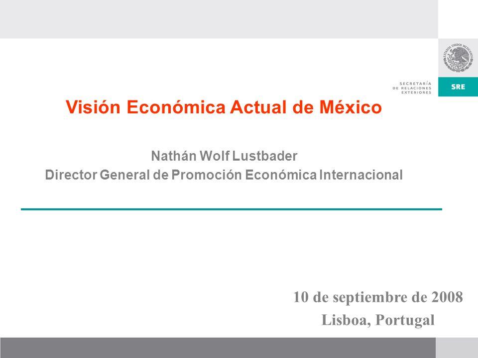 Visión Económica Actual de México