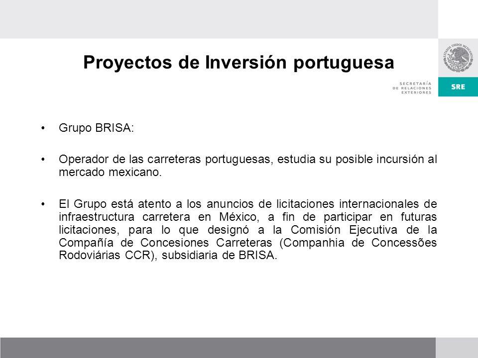 Proyectos de Inversión portuguesa