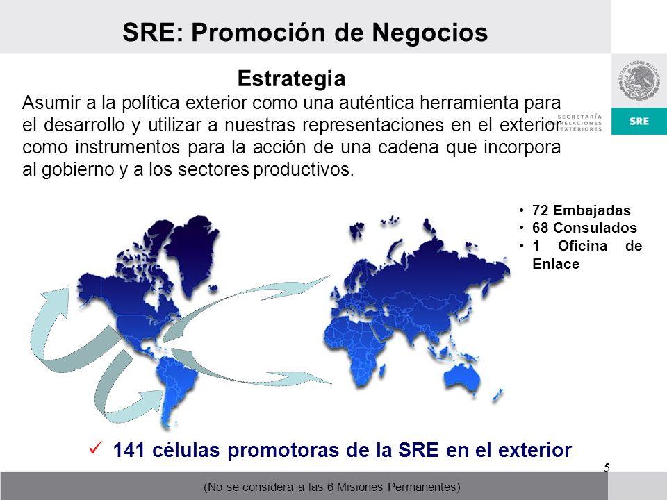 SRE: Promoción de Negocios