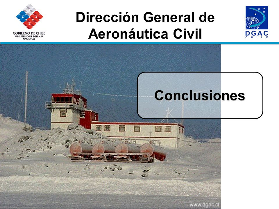 Dirección General de Aeronáutica Civil Conclusiones