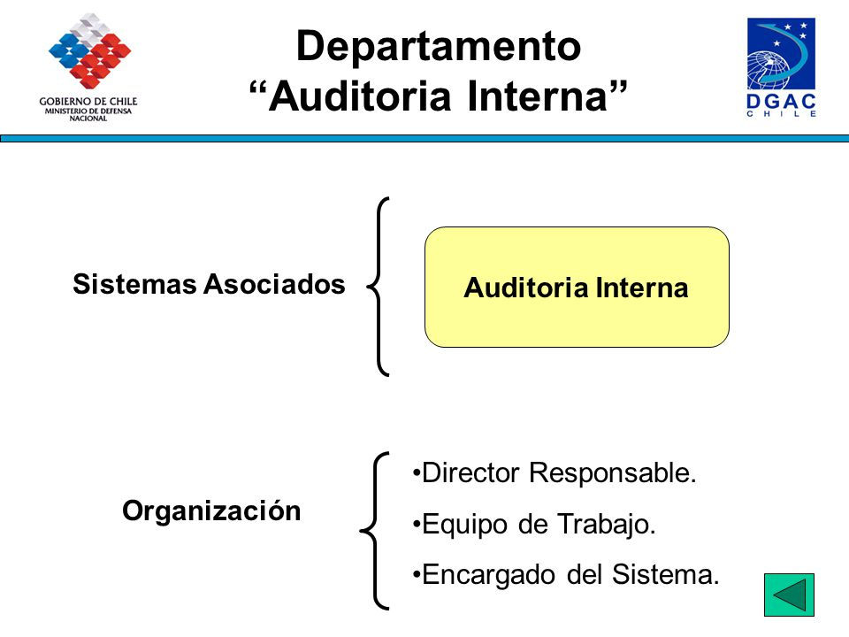 Departamento Auditoria Interna